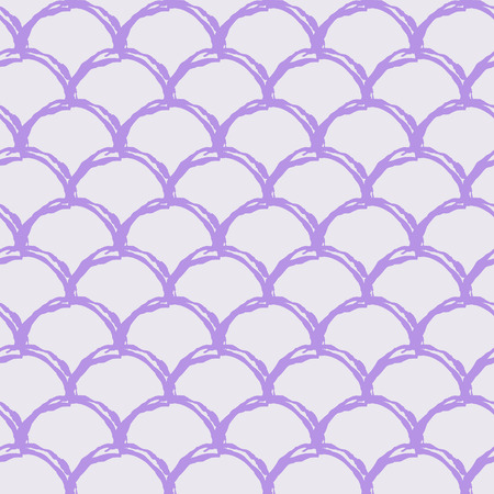 Mermaid scale seamless pattern. Fish skin texture. Tillable background for girl fabric, textile design, wrapping paper, swimwear or wallpaper. Purple mermaid background with fish scale underwater.