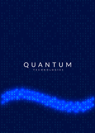 Artificial intelligence background. Technology for big data, visualization, deep learning and quantum computing. Design template for database concept. Colorful artificial intelligence backdrop.