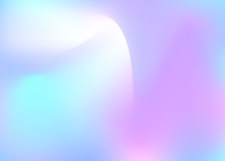 Hologram abstract background. Rainbow gradient mesh backdrop with hologram. 90s, 80s retro style. Iridescent graphic template for book, annual, mobile interface, web app. 일러스트