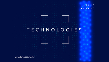 Big data background. Technology for visualization, artificial intelligence, deep learning and quantum computing. Design template for network concept. Cyber big data backdrop.