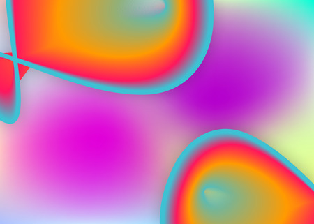 Fluid dynamic. Holographic 3d backdrop with modern trendy blend. Vivid gradient mesh. Vibrant wallpaper, flyer design. Fluid dynamic background with liquid shapes and elements.