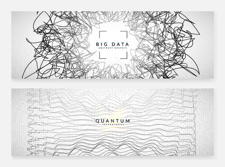 Big data background. Digital technology abstract concept. Artificial intelligence and deep learning. Tech visual for connection template. Futuristic big data background. Çizim