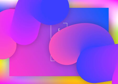 Landing page. Minimal app, ui composition. Vivid gradient mesh. Holographic 3d backdrop with modern trendy blend. Landing page with liquid dynamic elements and fluid shapes.