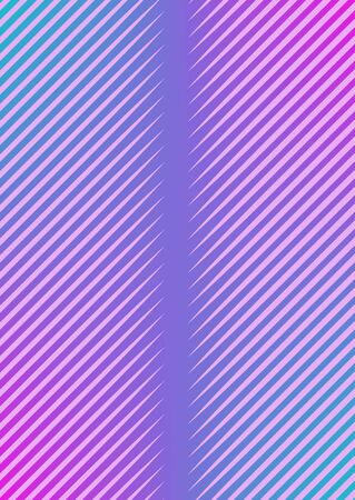 Abstract minimal cover with geometric waves and gradients. Trendy layout with halftone. Abstract minimal cover template for book, banner, invitation and poster. Futuristic business illustration. Stockfoto - 138472794