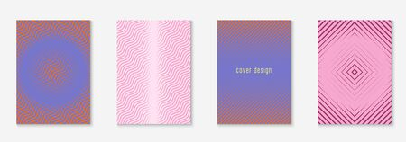 Poster design modern. Creative page, presentation, mobile screen, journal layout. Purple and pink. Poster design modern with minimalist geometric lines and shapes.