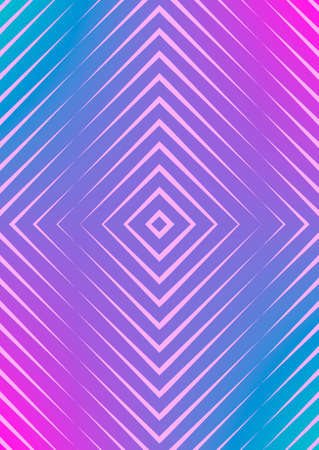 Abstract minimal cover with geometric waves and gradients. Trendy layout with halftone. Abstract minimal cover template for book, banner, invitation and poster. Futuristic business illustration.
