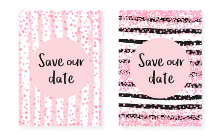 Valentine Invitation. Stripe Stylish Cover. Pink Magic Card. Splatter Particles. Handdrawn Wallpaper Set. Rose Mothers Starburst. White Winter Art. Pink Valentine Invitation