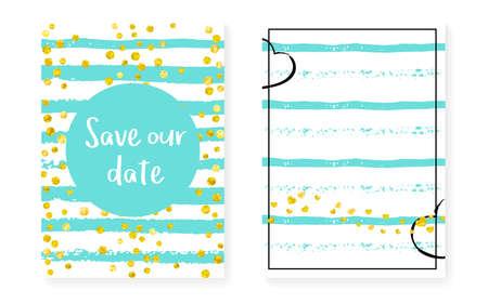 Shiny Gold Sparkle. Golden Simple Offer. Turquoise Branding Card. Mint Glowing Brochure. Decorative Particle Set. White Paint. Nursery Magazine. Stripe Shiny Gold Sparkle