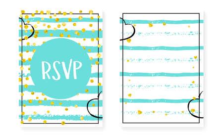 Valentine Banner. Golden Party Frame. Stripe Scatter Element. New Year Illustration Set. Mint Spray. Festive Stardust. White Holiday Wallpaper. Turquoise Valentine Banner