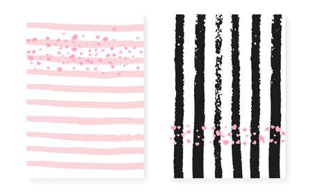 Wedding Sparkle. Christmas Painting Set. White Carnival Illustration. Glowing Wallpaper. Rose Trendy Spray. Pink Polka Frame. Stripe Scatter Paint. Stripe Wedding Sparkle