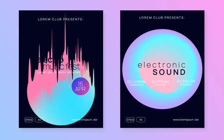 Summer poster and music fest flyer.