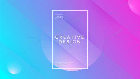 Futuristic Layout. Digital Pattern. Creative Illustration. Purpl