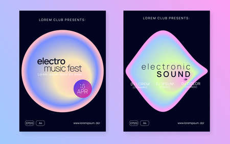 Summer fest flyer and music poster.