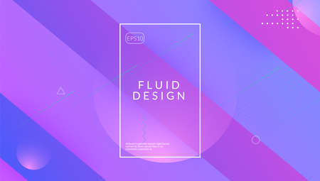 Gradient Design. 3d Dynamic Layout. Tech Landing Page. Modern Jo