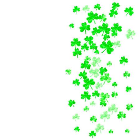 Shamrock background for Saint Patricks Day.