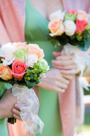 bridesmaids: bridesmaids bouquets