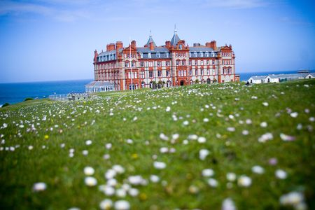 english beach mansion