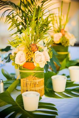 Table decorations 版權商用圖片