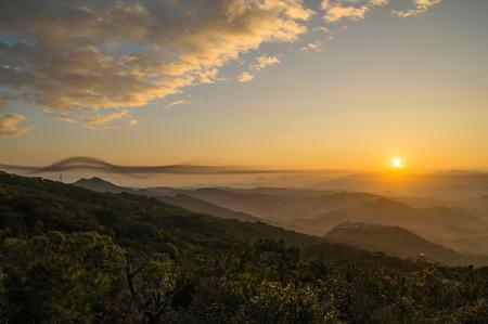 impressed: wuzhi mountain,The wonders of nature impressed