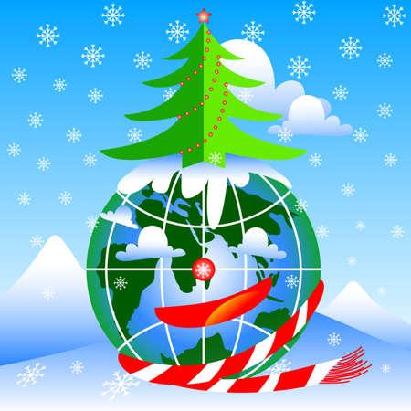 newyear: happy holiday new year Illustration