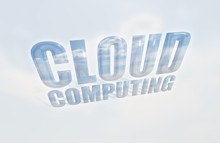 Cloud-based Computing Stock Photo - 9177243