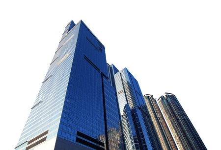 commercial real estate: Commercial High Rise Real Estate Stock Photo