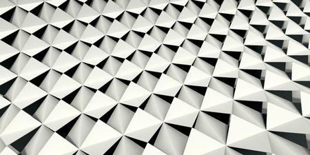 Schermo pieghevole in bianco e nero Archivio Fotografico