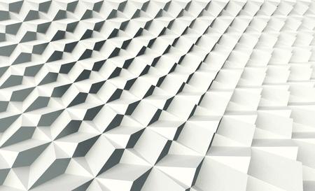 White Folding Shell Screen Wall Standard-Bild