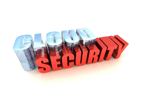 Online Data Security Stock Photo