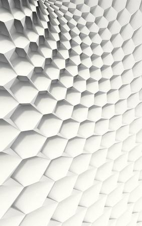 distort: Honeycomb blanco