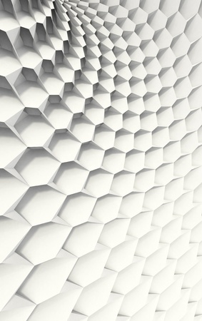 White Honeycomb