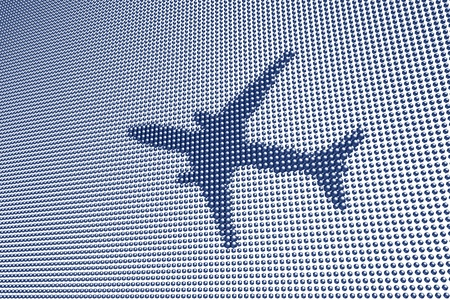 Aircraft Dot Screen