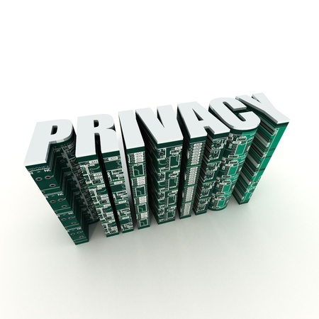 Online Privacy Stock Photo - 9901197