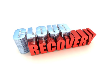 Online Data Recovery on White Stock Photo - 9901165