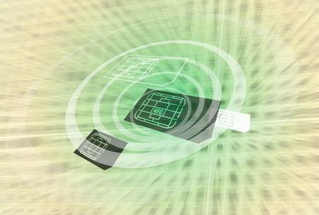 NFC Near Field Communication-technologie