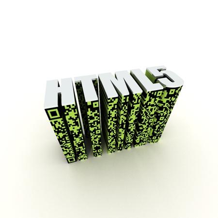HTML 5 Standard Stock Photo - 10407613
