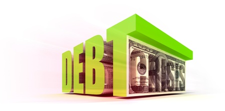 Debt Crisis Stock Photo - 10407607