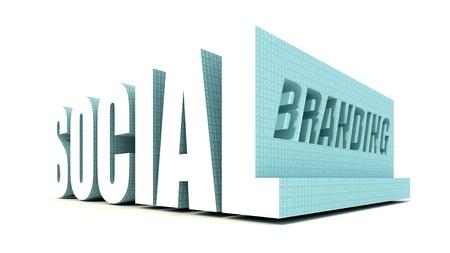 Social Branding Stock Photo - 10529654