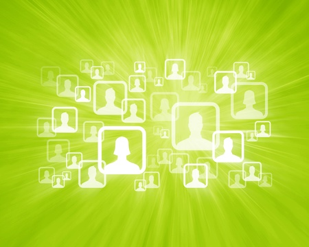 Social Network Icons Stock Photo - 10714187