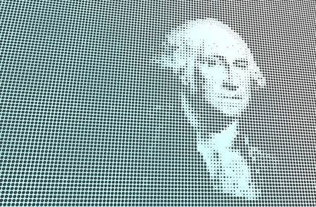 george washington: Retrato de Washington Digital
