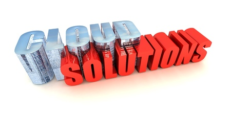 Cloud Computing Solutions Stock Photo - 13878567