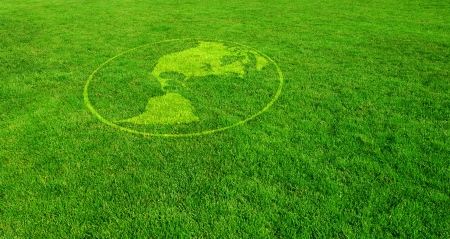 multinational: Americas on Green Lawn