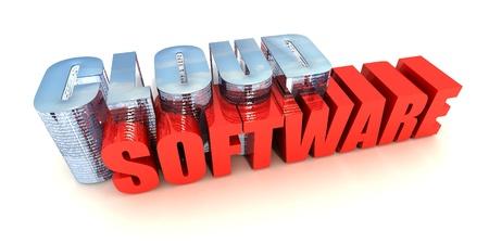 Cloud Software Stock Photo - 14535028