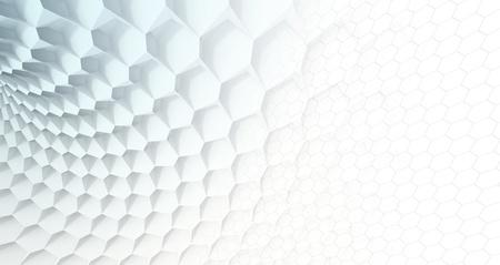 Hexagon Grid Imagens