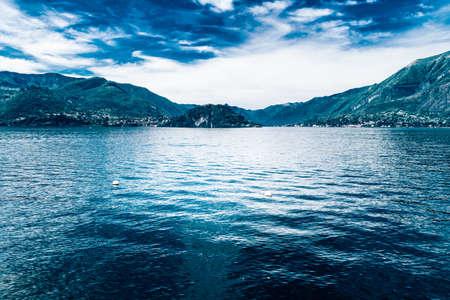 lake como: Lake Como in Italy , Lombardia, Italy, mediterranean