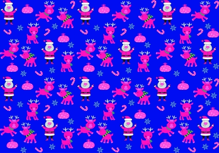 printing house: christmas pattern 2 Illustration