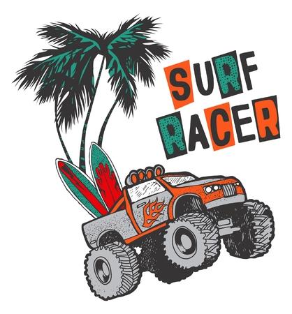 SURF RACER OFFROAD CAR SUMMER