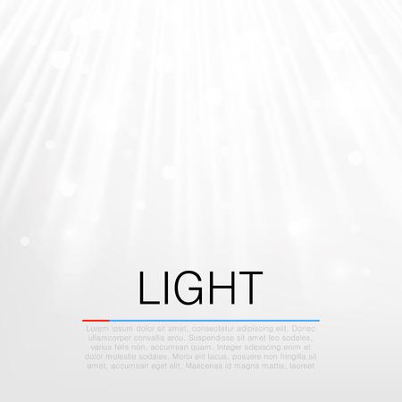 flare light: Lens flare light vector white background concept. Illustration