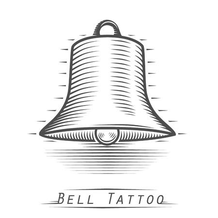 tatouage art: Bell a l'art du tatouage retro vintage. Vector illustration