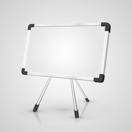 notice board: Notice Board art object sign. Vector illustration